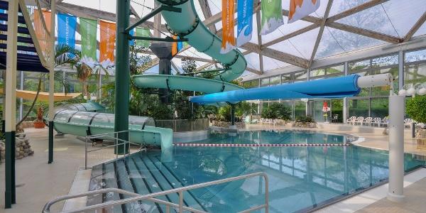 Badespaß ist im Ferienpark Hambachtal garantiert