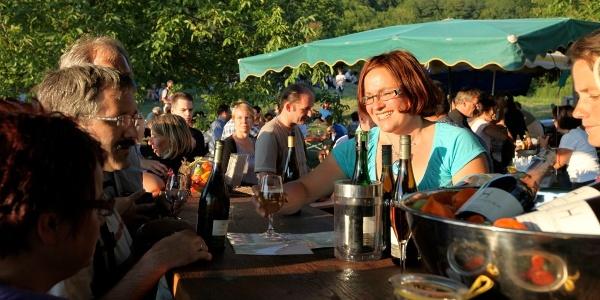 Gemeinsam am Weinweg