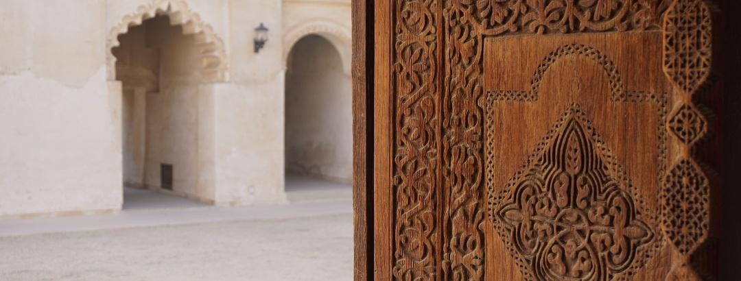 Traditionelle Häuser in Bahrain