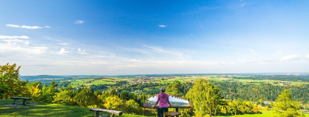 Die Aussicht bei der AugenBlick Runde am Wächtersberg bei Wildberg