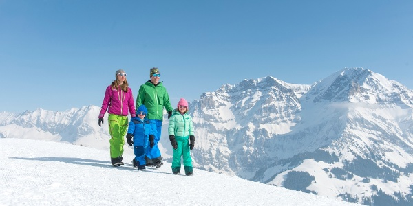Winterwandern TschentenAlp