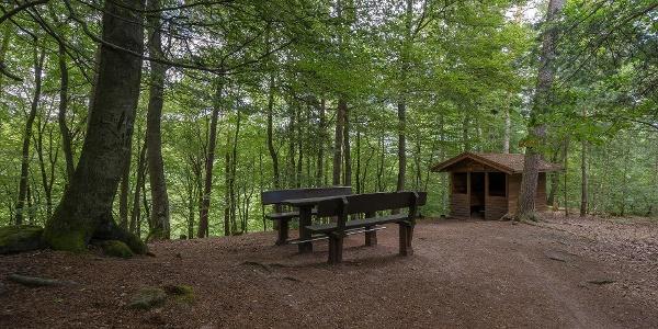 Gippelstürmerhütte mit Außensitzgruppe