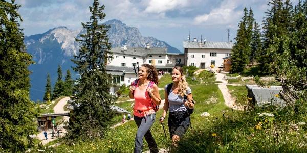 Höhenwanderung am Lattengebirge