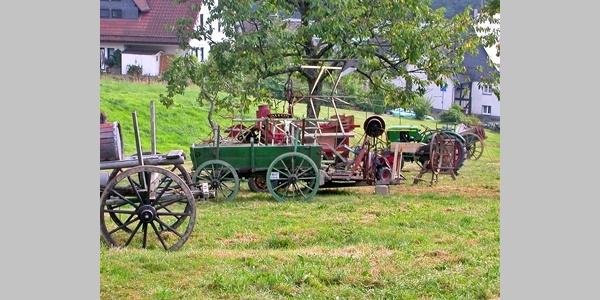Außenbereich Landwirtschaftsmuseum Hadem