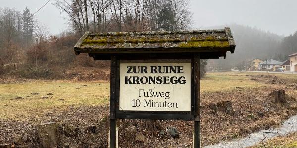 Burgruine Kronsegg