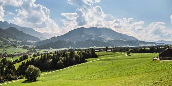 Ausblick vom Oberlindebüel
