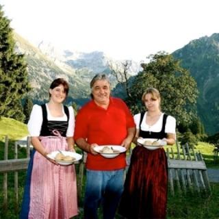 Wirt der Schwarzenberg Hütte