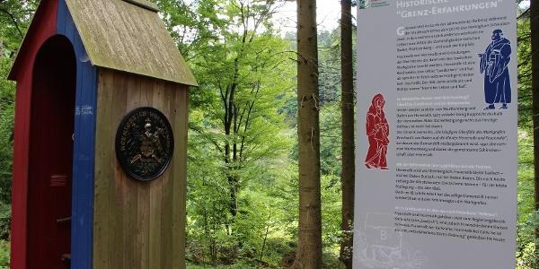 Das Zollhäusle markiert die historische Grenze von Baden und Württemberg.
