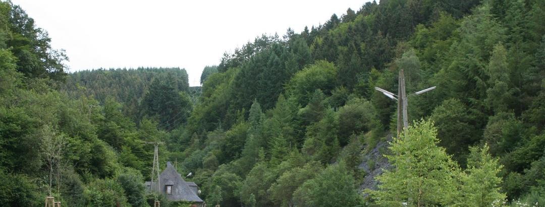 Wohnmobilstellplatz am Besucherbergwerk Fell