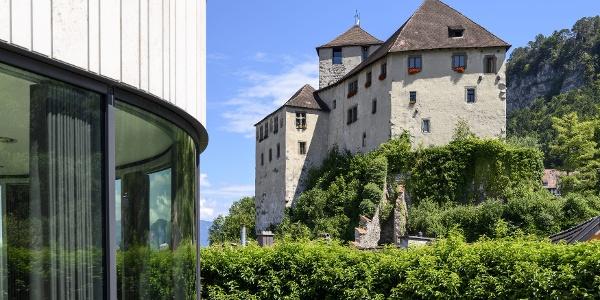 Schattenburg und Montforthaus Feldkirch