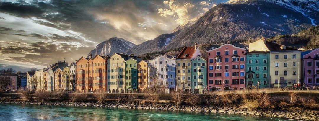 Landeshauptstadt Tirol - Innsbruck Mariahilf am Inn