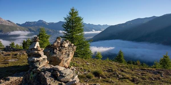 view from Muottas da Schlarigna