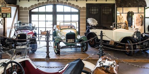 Austellung im Auto & Traktor Museum