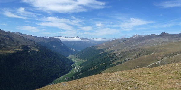 Vallelunga high mountain trail