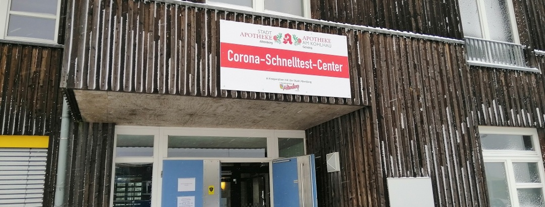 Corona-Schnelltest-Center Zinnwald