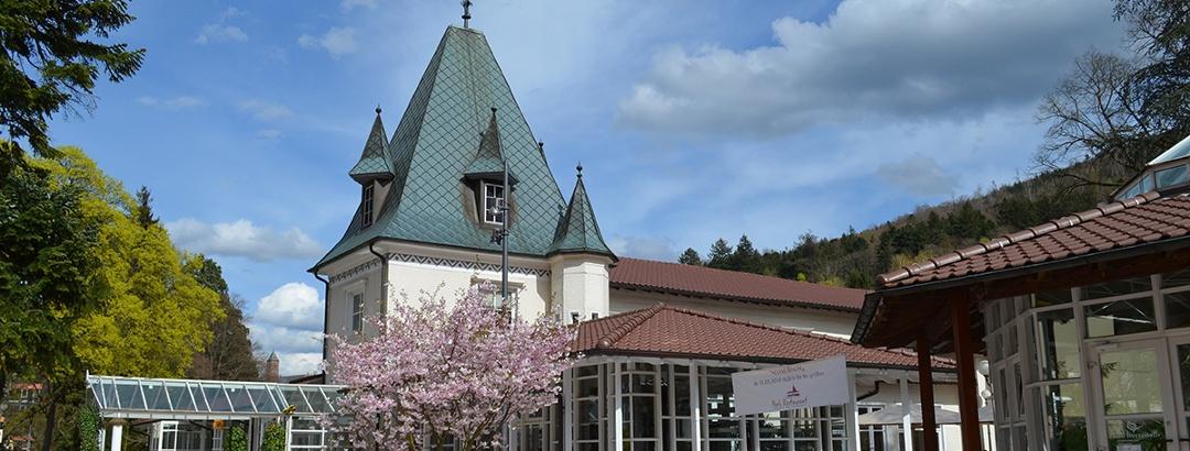 Bad Herrenalber Kuhaus mit Trinkpavillon