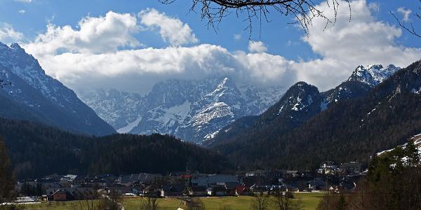 Kranjska Gora from the N