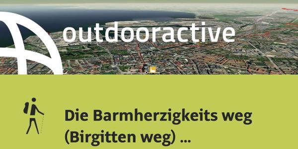Pilgerweg in Südschweden: Die Barmherzigkeits weg (Birgitten weg) Malmö nach Lund