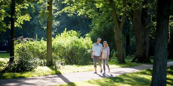 Spaziergang im Luitpoldpark | Bad Kissingen