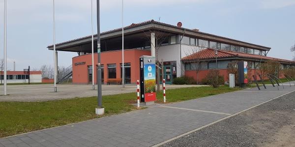 Elektroauto-Ladestation Kellerwaldhalle