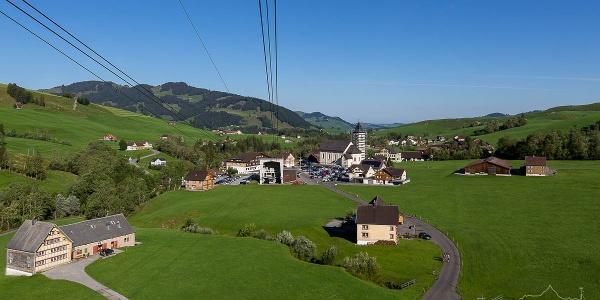 Blick auf Brülisau