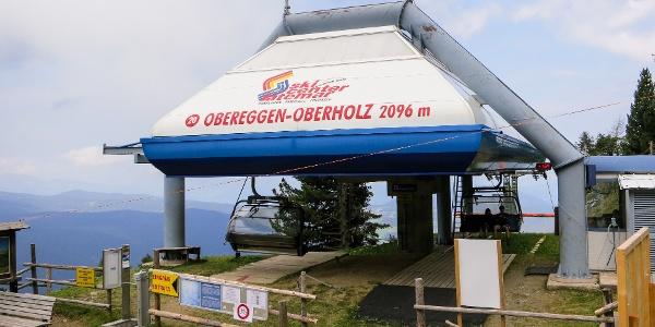 Die Tour kann mit dem Oberholz-Lift beträchtlich abgekürzt werden.