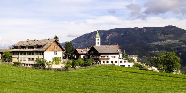 Steinegg, beliebter Ausgangspunkt für Biketouren