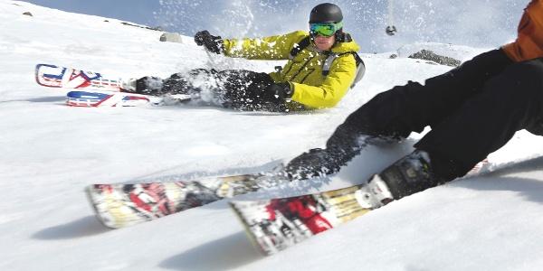 Ski-Freeride: Das Spiel mit der Fliehkraft