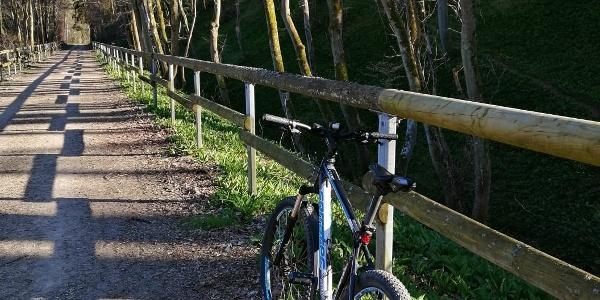 Ahr-Radweg im oberen Ahrtal