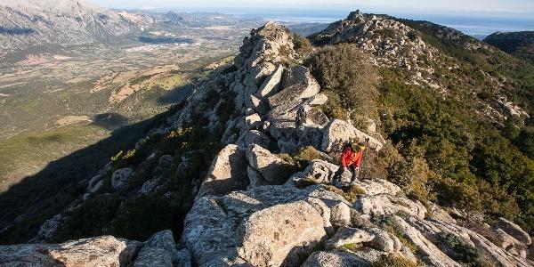 Panorami mozzafiato dalle creste più alte della Sardegna.