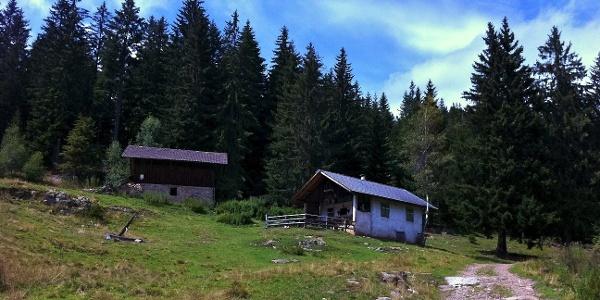 The Classic Monte Pozza Tour leads by the Klausalm alpine pasture.