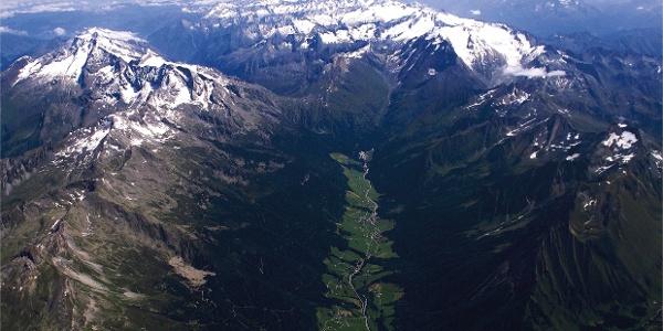 Die Felbe ist der Nachbar von Grabspitze und Rotes Beil im hinteren Pfitschtal.