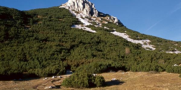 View su Corno Bianco from the Oclini pass.