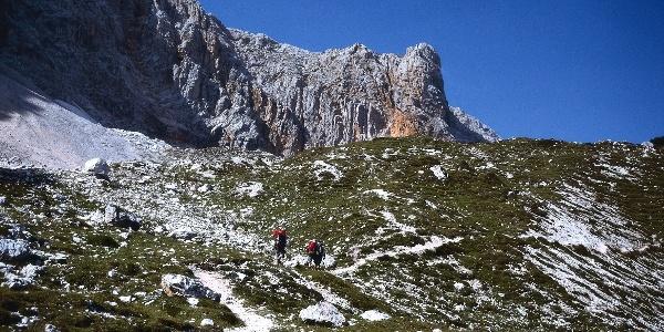 Angenehmes Wandern auf dem Gaisler-Höhenweg.