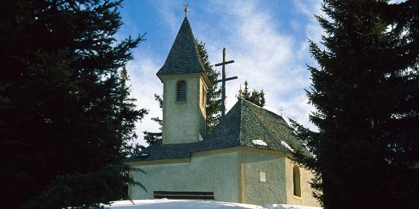 Das Mariahilfkirchlein am Freienbühel