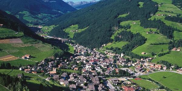Der Sarntaler Hauptort Sarnthein