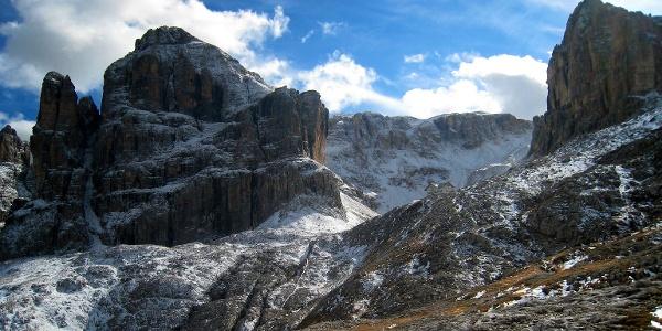 The Pisciadu mountain hut