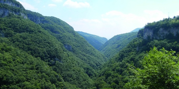 Benvenuti nel Parco delle Cascate di Molina.