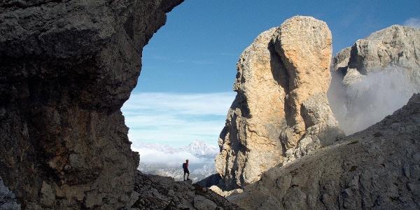 Klettersteigtour auf den Monte Schiara