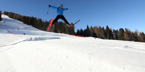Großartige Skirundfahrt im Herz der Dolomiten.