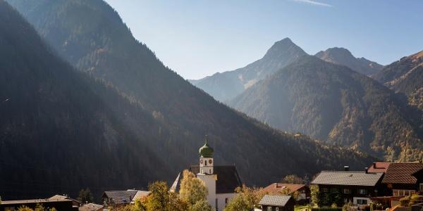 St. Gallenkirch Ortszentrum