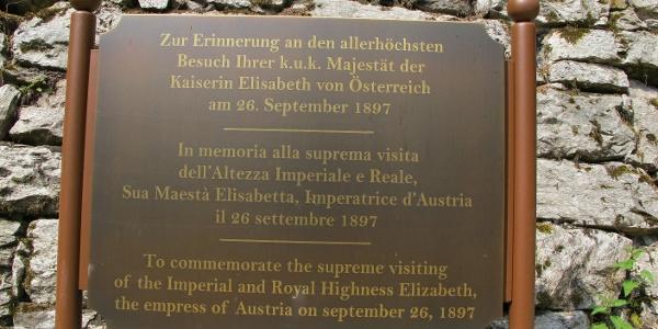 In Erinnerung an die Kaiserin