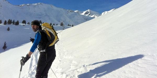 Winterruhe im abgeschiedenen Lagauntal