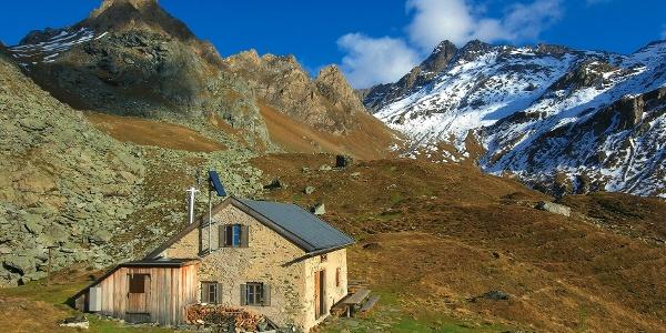 In alpiner Abgeschiedenheit. Die Sterzinger Hütte.