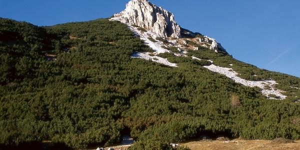 The Weißhorn - Cornp Bianco seen from Passo Oclini