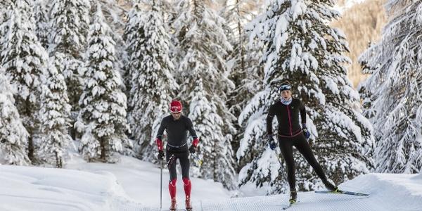 Unberührte Natur, Ruhe und viel Schnee – was will man mehr?