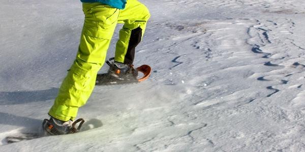Schneeschuhwandern in Walten im Passeiertal, das reine Wintervergnügen