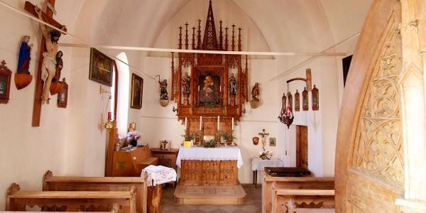Vorbei an der Kapelle Bad Siess.