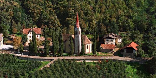 Ausgangspunkt der Rundtour - Burgstall.
