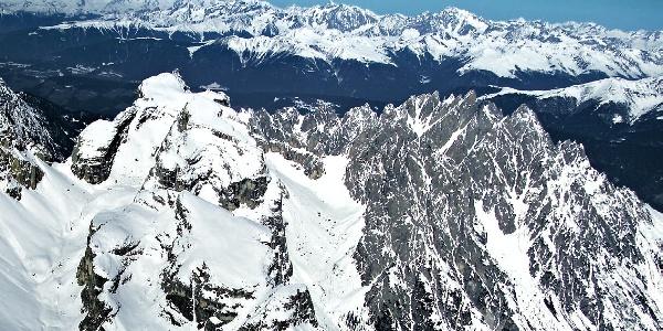 The Cima Piatta Alta mountain.
